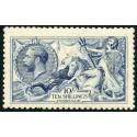 1915 De La Rue Printing, 10/- blue, very fine MNH. RPSL Cert. Spec. no. N70(1)