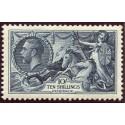 1934 Waterlow re-engraved 10s indigo very fine MNH. Spec. N75