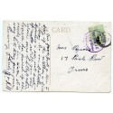 """Cornwall 1909 p/c with KEVII  ½d  """"Tresillian/Probus S.O. /21 MAY 09/Cornwall"""" rubber ds"""