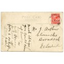 "Cornwall 1926 p/c - ½d  KGV  ""Two Waters Foot /21 JUN 26/Liskeard"" rubber ds"