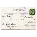 """Cornwall 1911 p/c with  ½d  KGV  """"Trewoon /31 JUL 11/St Austell"""" rubber ds"""