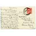 """Cornwall 1931 p/c with 1d  KGV  """"Constantine Padstow/15 JNE 31/Cornwall"""" rubber ds"""