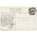 """Cornwall 1911 p/c with KEVII  ½d  """"High Street/23 OCT 11/ St Austell"""" rubber ds"""