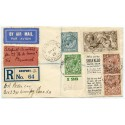 1928 Ile de France Catapult mail cover to Canada with BW 2/6 Seahorse