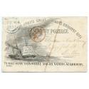 "RARE 1851 Gilpin's ""Ocean Penny Postage"" env. CARNEW Ireland to Dublin"