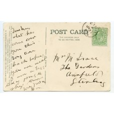 1906 postcard with ½d EVII issue being tied by the Isle of Eigg c.d.s.