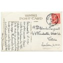 """1930 postcard with KGV 1d tied by the """"Balmoral Castle"""" circular datestamp."""