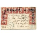 "1858 cover 10 x1d with type III ""Glendaruel"" Argyllshire, Scots Local namestamp."