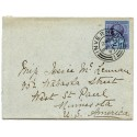 "1887 2½d ""Jubilee"" on cover Inverness to West St Paul, Minnesota, U.S.A."