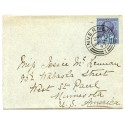 1897 envelope with 2½d Jubilee addressed to the U.S.A. from Inverness.