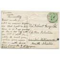 1911 postcard with EVII ½d with Vidlin, Shetland Islands c.d.s.