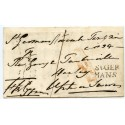 "Cornwall - 1834 entire with SUPERB 2-line ""ST GERMANS"" handstamp"