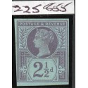 1887 2½d pale purple on blue,  scarce imprimatur . Spec. No. K31(1)ab. R.P.S.,L. Cert.