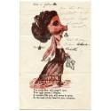 """Rare + attractive 1875 abusive """"Anti-Valentine"""" wrapper ex Greenock 1870 ½d"""